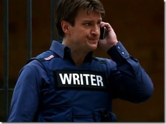 Richard Castle Writer Vest