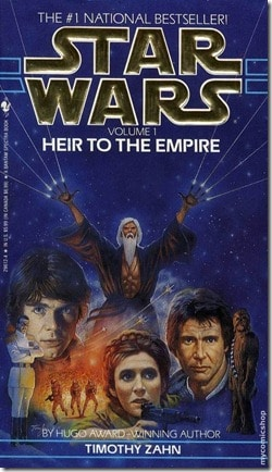 Star Wars Heir to the Empire Cover Timothy Zahn