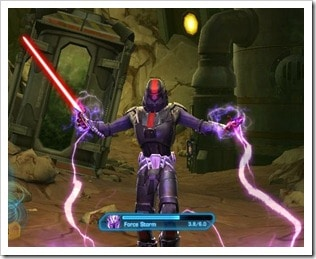 SWTOR Sith Inquisitor Force Storm
