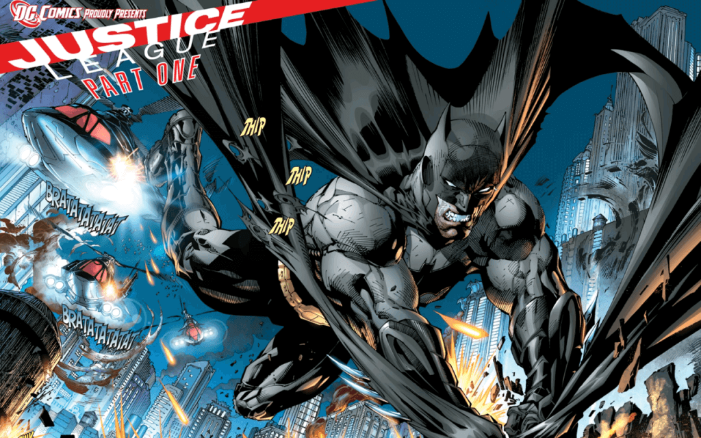 New 52 Justice League - Batman